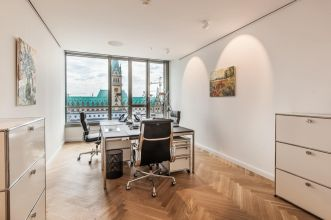 Rent office for teams with view to city center