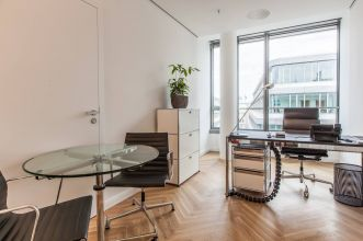 Rentable office in Hamburg with full service